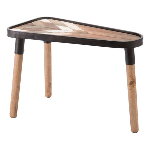 Canty Arrow End Table by Union Rustic