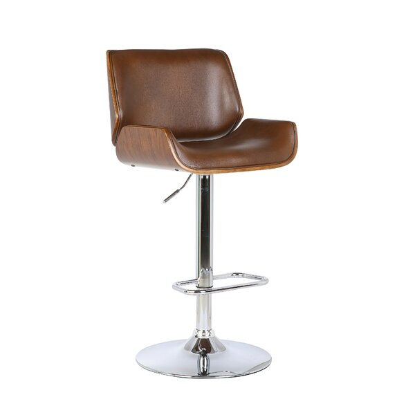 Adjustable Height Swivel Bar Stool by Best Quality Furniture