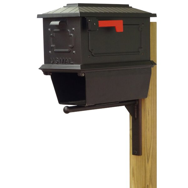 Kingston Curbside Post Mounted Mailbox by Special Lite Products