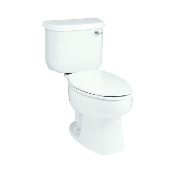 Windham 1.28 GPF Elongated 2 Piece Toilet by Sterling by Kohler