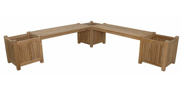 Planter Teak Planter Bench by Anderson Teak
