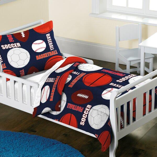 Madeleine 2 Piece Toddler Bedding Set by Zoomie Kids