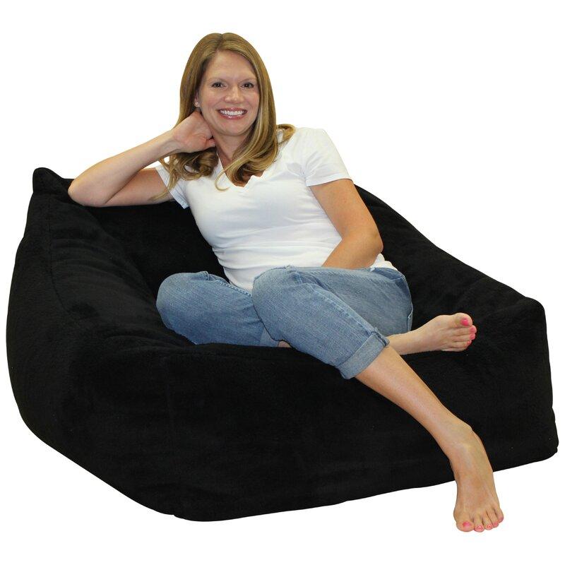 Soft Foam Bean Bag Chair  sc 1 st  Wayfair & Latitude Run Soft Foam Bean Bag Chair | Wayfair