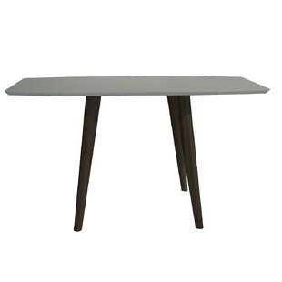 Krueger Mid-Century Modern Extendable Dining Table by Wrought Studio