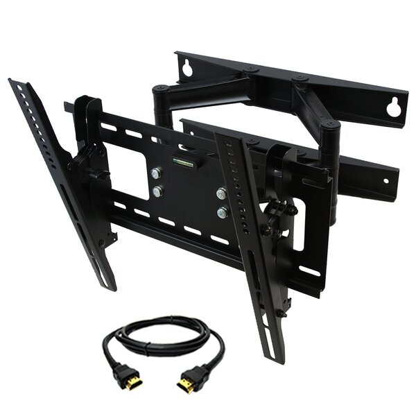 Tilt/Swivel Articulating Wall Mount for 23- 46 LED/LCD/Plasma Screens by MegaMounts