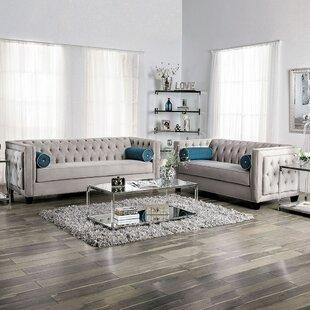 Tuck 2 Piece Living Room Set by House of Hampton®