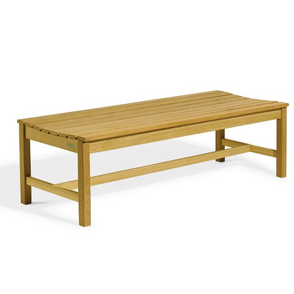 Onique Backless Wooden Picnic Bench by Millwood Pines
