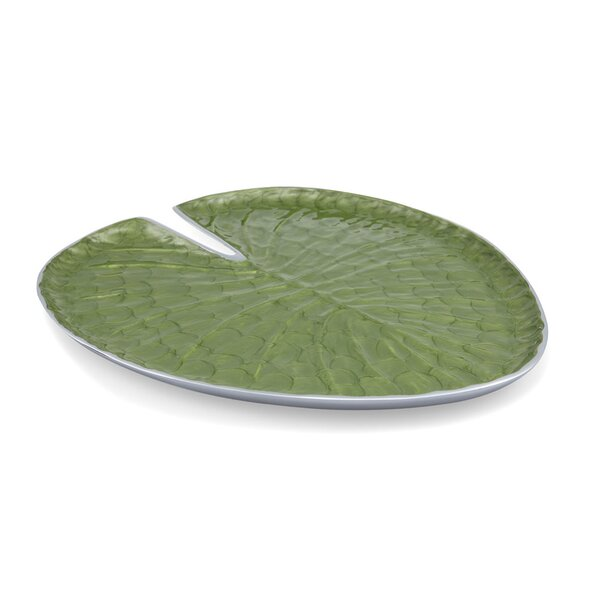 Lily Pad Platter by Julia Knight Inc