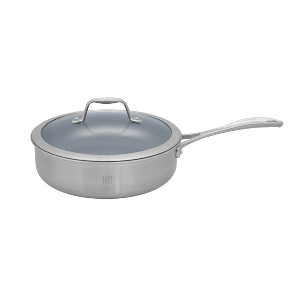 Spirit 3 Qt. Stainless Steel Ceramic Nonstick Saute Pan by Zwilling JA Henckels