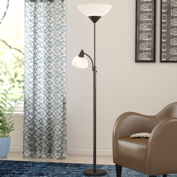 Warleigh 71 Torchiere Floor Lamp by Wrought Studio