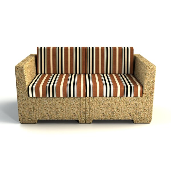 Sturtevant Loveseat with Cushion by Red Barrel Studio