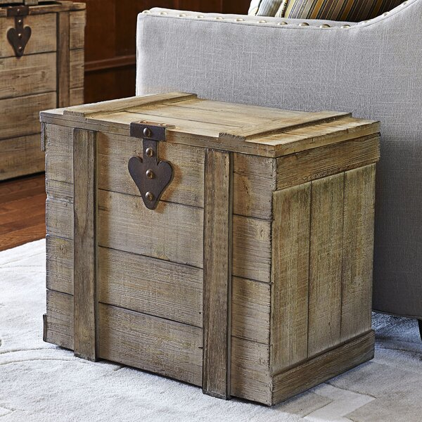 Blakeney Small Wooden Home Chest by August Grove