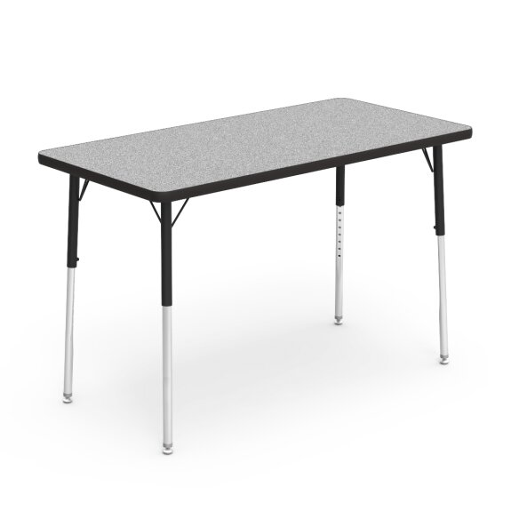4000 Series 48 x 24 Rectangle Activity Table by Virco
