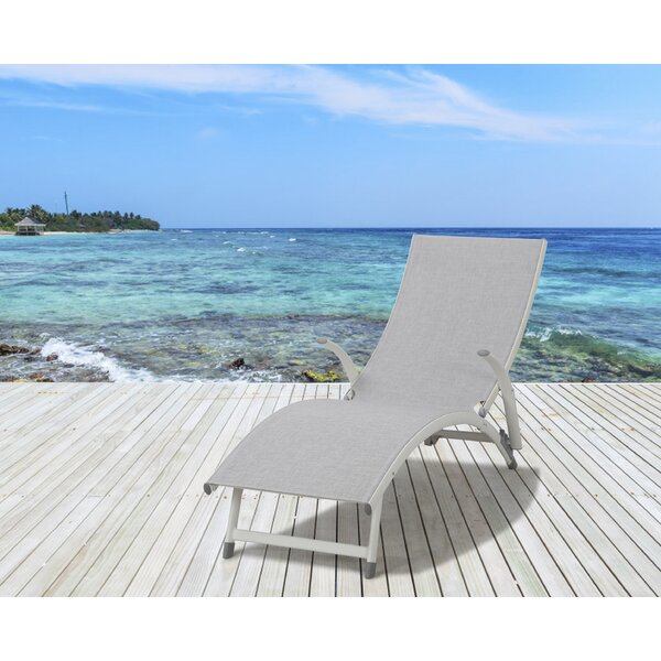 Hershberger Poolside Reclining Chaise Lounge