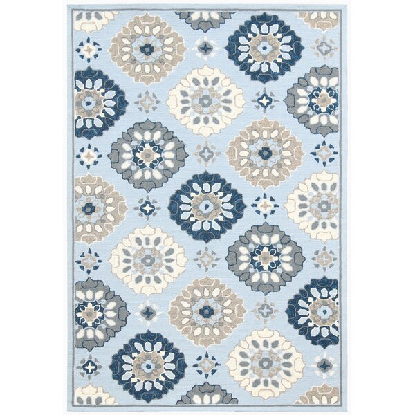 New Britain Multi-purpose Light Blue Indoor/Outdoor Area Rug by Winston Porter