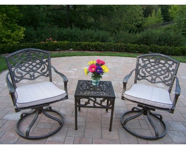 Mcgrady 3 Piece Seating Group with Cushions by Astoria Grand