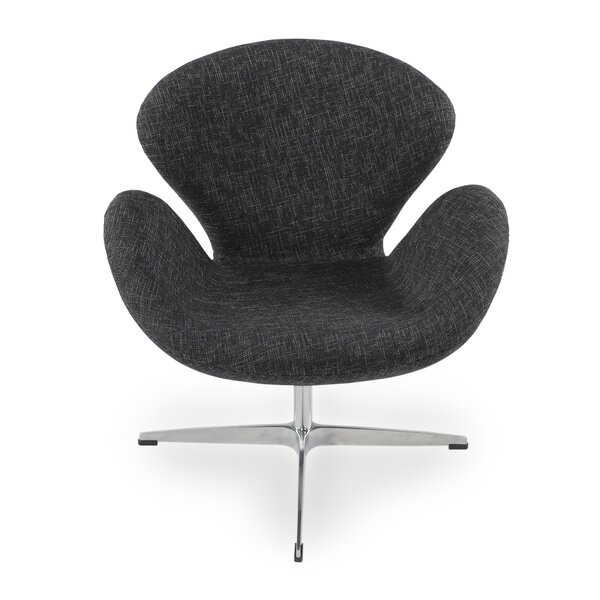 Satrogan Swivel Lounge Chair by Orren Ellis