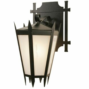 Compare prices Coronado 1-Light Outdoor Wall Lantern By Steel Partners