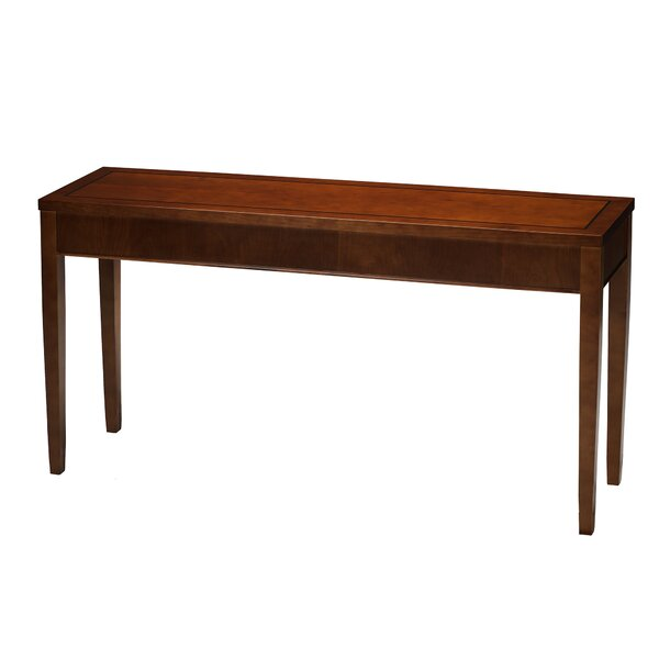 Symple Stuff Brown Console Tables