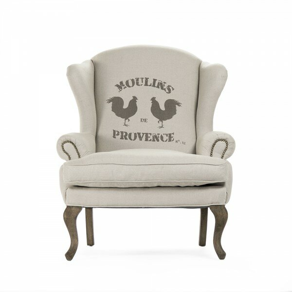 Kelkar Wingback Chair By August Grove Savings
