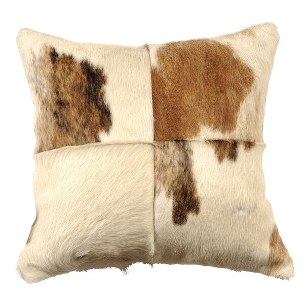 Leather Throw Pillow by Wooded River