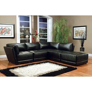 Modular Sectional  sc 1 st  Wayfair : leather modular sectional - Sectionals, Sofas & Couches