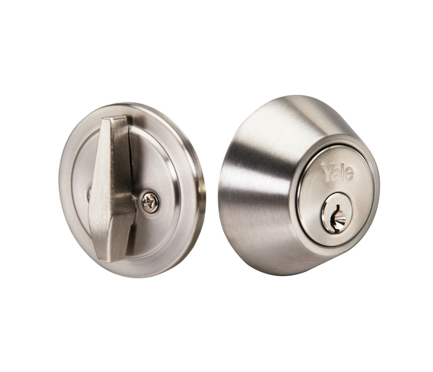 Yale Round Single Cylinder Deadbolt Reviews Wayfair