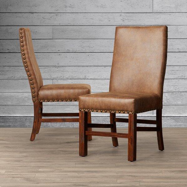 Lyons Upholstered Dining Chair (Set of 2) by Loon Peak Loon Peak