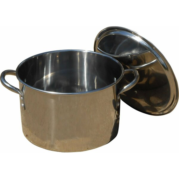 Stock Pot with Lid by King Kooker