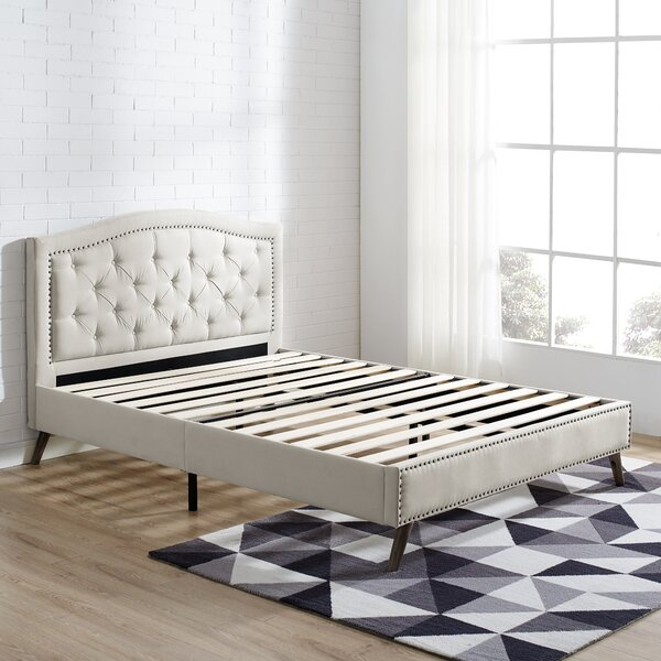 Applewhite Upholstered Platform Bed by House of Hampton