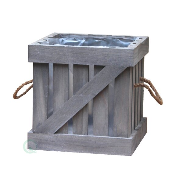 Crate Solid Wood Planter Box by Gardenised