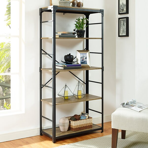 Cecelia Iron Standard Bookcase by Trent Austin Design