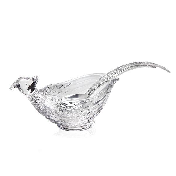 Pheasant Gravy Boat by Godinger Silver Art Co