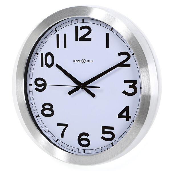 Spokane 15.75 Wall Clock by Howard Miller®
