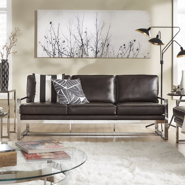 Adalbert 2 Piece Metal Living Room Set by Trent Austin Design