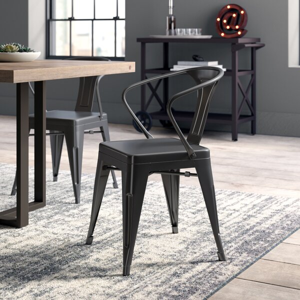 Montville Metal Dining Chair (Set Of 2) By Greyleigh