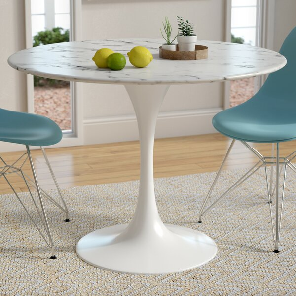 Julien Artificial Marble Dining Table by Langley Street