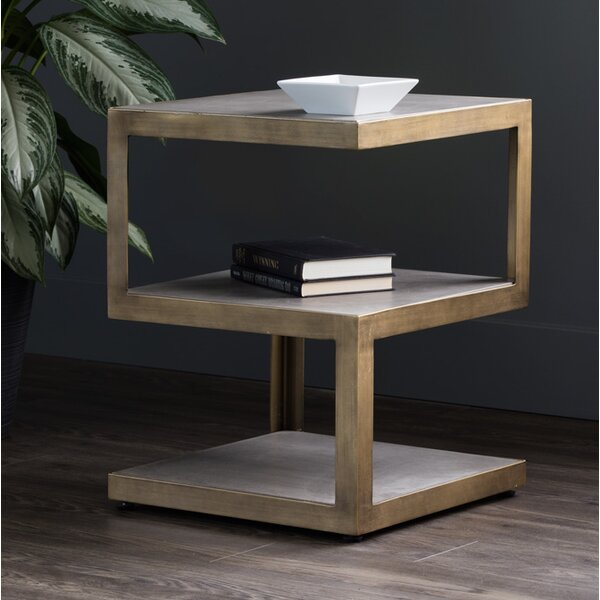 Porterfield End Table by Orren Ellis