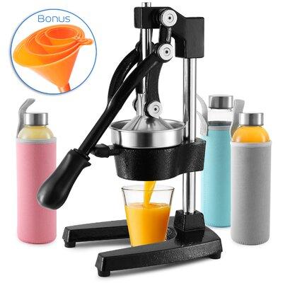 Heavy Duty Cast Iron Citrus Press Orange Manual Extractor Juicer Gray | eBay