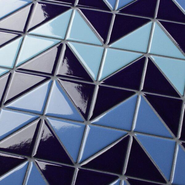 Trian Wave 1 x 2 Porcelain Mosaic Tile