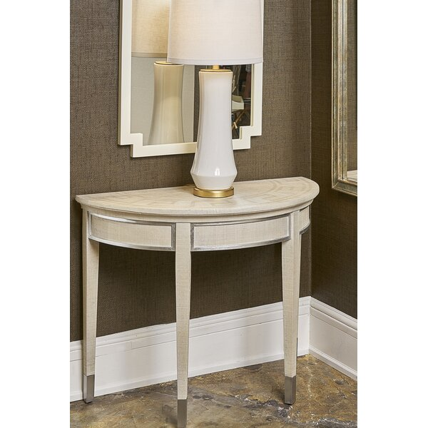 Raffia Console Table By Chelsea House