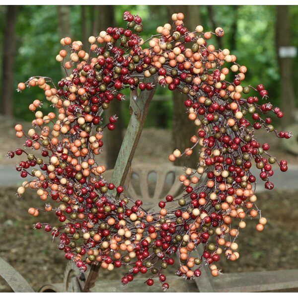 22 Fall Berry Wreath by Flora Decor