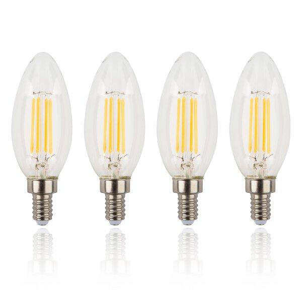 4W E12/Candelabra LED Light Bulb (Set of 4) by Amalfi Decor