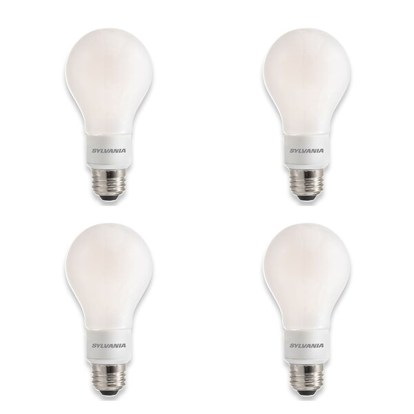 E26 Dimmable LED Light Bulb (Set of 4) by Sylvania