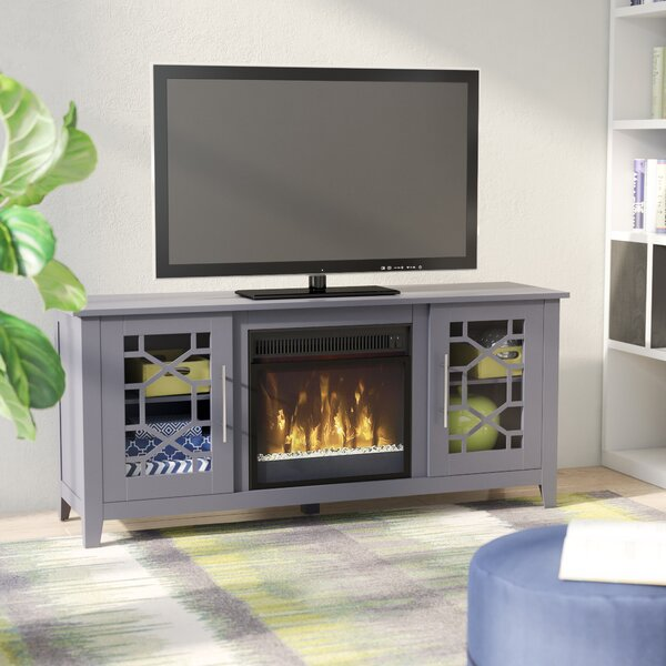 Jennings TV Stand for TVs up to 60 with Optional Fireplace by Three Posts