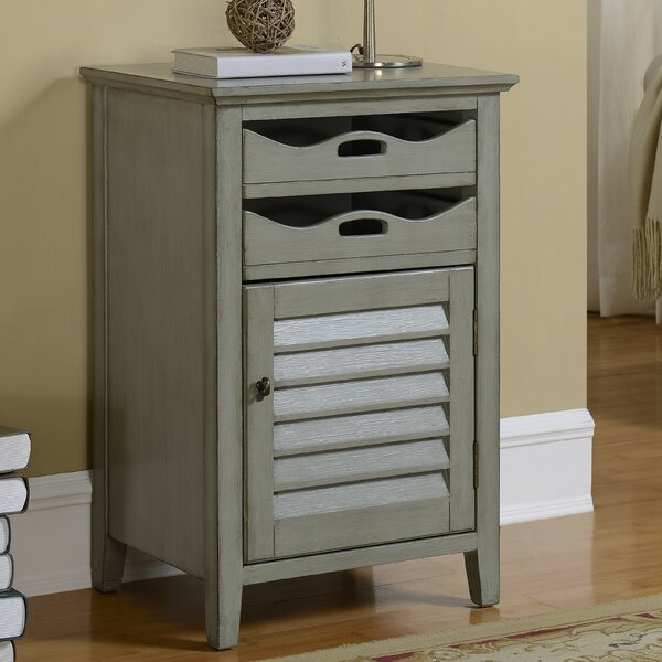 Hatchell 2 Drawer Accent Cabinet by August Grove August Grove