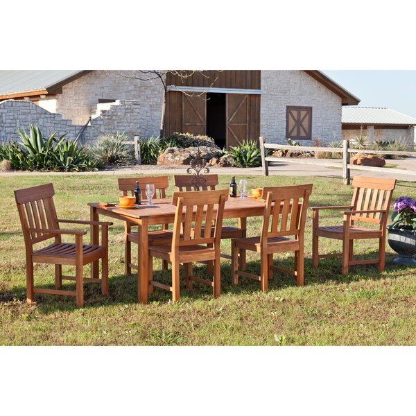 Dabney 7 Piece Dining Set by Wildon Home ®