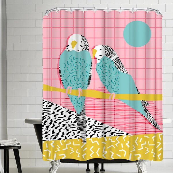 Wacka Designs Hottie Shower Curtain by East Urban Home