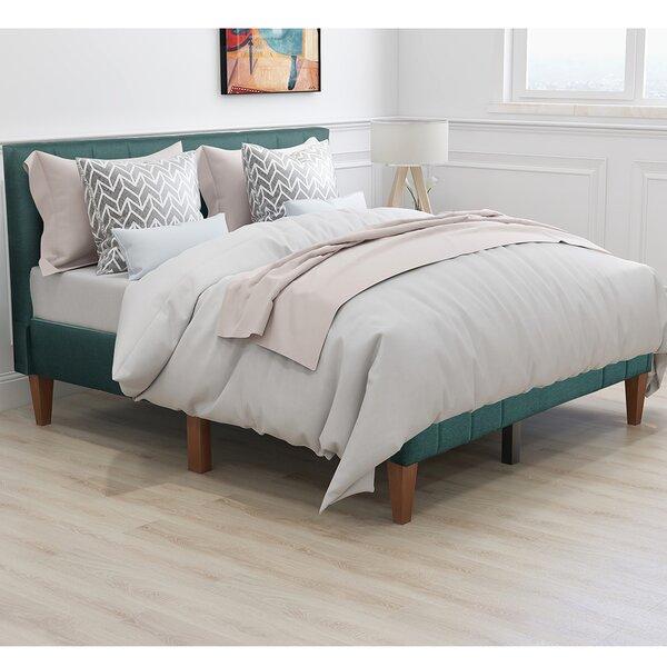 Bentson Upholstered Platform Bed by Brayden Studio