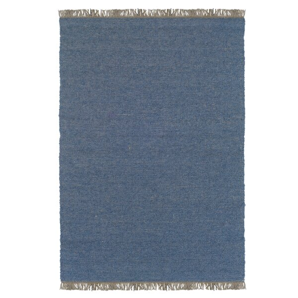 Landenberg Hand-Woven Blue Area Rug by Bay Isle Home